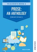 Cover for Prose: An Anthology for Key Stage 4 Teacher