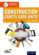 Cover for Construction Crafts Core Units Level 1 Diploma