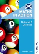 Cover for Maths in Action National 3 Lifeskills