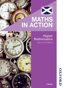 Cover for Maths in Action - Higher Mathematics 2nd edition