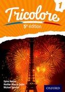 Cover for Tricolore 5e edition Student Book 1