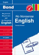 Cover for Bond No Nonsense English 8-9 Years