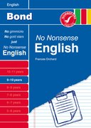 Cover for Bond No Nonsense English 9-10 Years
