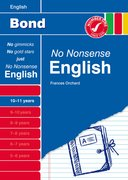 Cover for Bond No Nonsense English 10-11 years