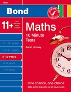 Cover for Bond 10 Minute Tests Maths 9-10 Years