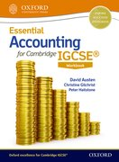 Cover for Essential Accounting for Cambridge IGCSERG Workbook