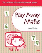 Cover for Play Away Maths - The red book of maths homework games (x10)