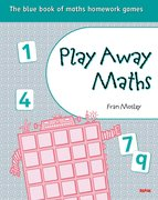 Cover for Play Away Maths - The blue book of maths homework games Y5/P6 (x10)