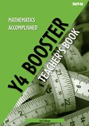 Cover for Mathematics Accomplished Year 4 Booster Pack