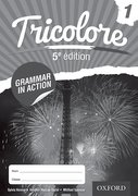 Cover for Tricolore 5e edition Grammar in Action Workbook 1 (8 pack)