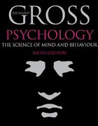 Cover for Psychology: The Science of Mind and Behaviour, 6th edition