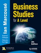 Cover for Business Studies for A-Level