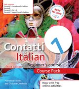 Cover for Contatti 1 Italian Beginner