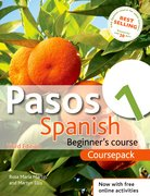 Cover for Pasos 1 Spanish Beginner