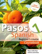 Cover for Pasos 1 Spanish Beginners Course 3rd Edition Revised: Coursebook