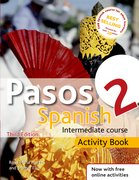 Cover for Pasos 2 Spanish Intermediate Course 3rd edition revised:Activity Book