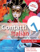 Cover for Contatti 1 Italian Beginner>
