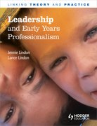 Cover for Leadership and Early Years Professionalism