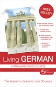 Cover for Living German