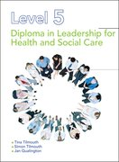 Cover for Level 5 Diploma in Leadership for Health and Social Care and Children and Young People