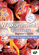 Cover for Willkommen Audio and Support Book Pack