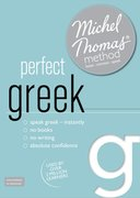 Cover for Perfect Greek with the Michel Thomas Method
