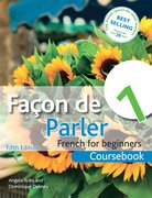 Cover for Facon de Parler 1 Coursebook 5th Edition