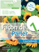Cover for Facon de Parler 1 Course Pack 5th Edition