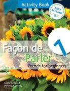 Cover for Facon de Parler 1 Activity Book 5th Edition