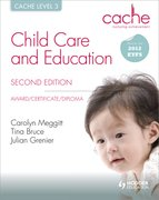 Cover for CACHE Level 3 Child Care and Education 2E