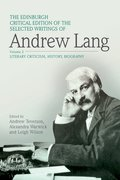 Cover for The Edinburgh Critical Edition of the Selected Writings of Andrew Lang, Volume 1