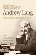 Cover for The Edinburgh Critical Edition of the Selected Writings of Andrew Lang, Volume 2