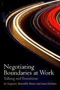 Cover for Negotiating Boundaries at Work