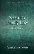 Cover for Scottish Family Law