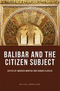 Cover for Balibar and the Citizen Subject