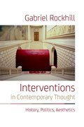 Cover for Interventions in Contemporary Thought