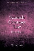 Cover for Scottish Contract Law