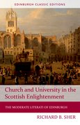 Cover for Church and University in the Scottish Enlightenment