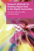 Cover for Research Methods for Reading Digital Data in the Digital Humanities