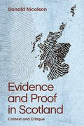 Cover for Evidence and Proof in Scotland