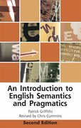 Cover for An Introduction to English Semantics and Pragmatics