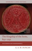 Cover for The Kingship of the Scots, 842-1292