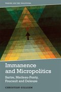 Cover for Immanence and Micropolitics