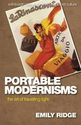 Cover for Portable Modernisms