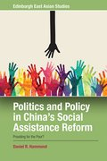 Cover for Politics and Policy in China