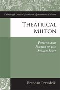 Cover for Theatrical Milton