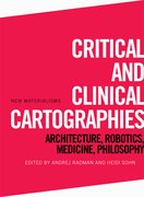 Cover for Critical and Clinical Cartographies