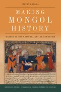 Cover for Making Mongol History