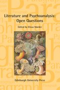 Cover for Literature and Psychoanalysis: Open Questions