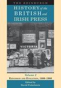 Cover for The Edinburgh History of the British and Irish Press, Volume 2